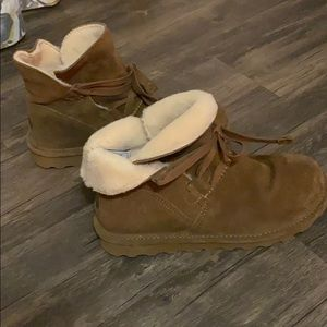 BearPaw Sherpa Lined Boots